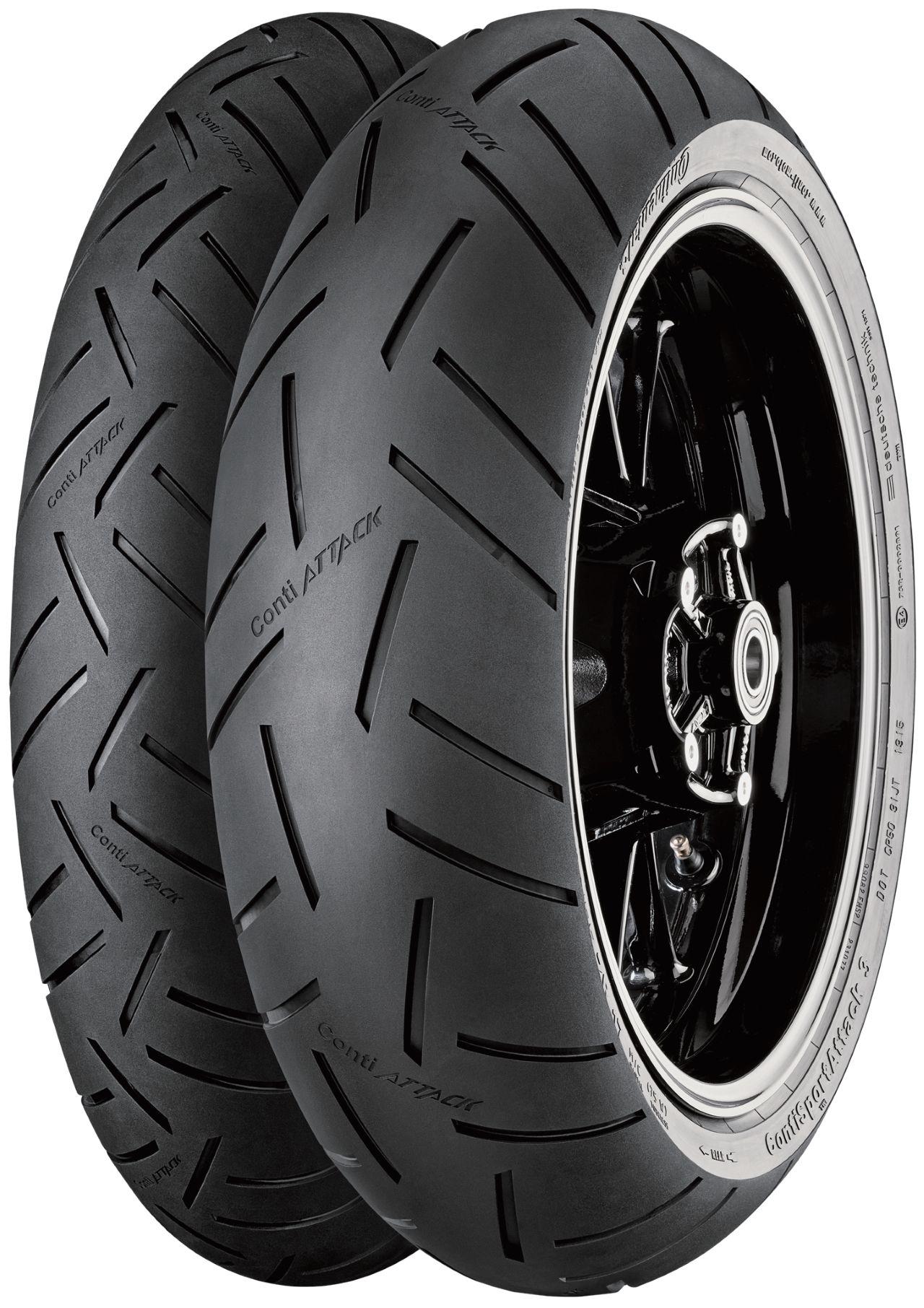 Continental Conti Sport Attack 3 [120/70ZR17 M/C (58W) TL] Tire