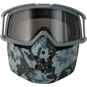 Shark helmet RAW GOGGLE INCLUDING MASK
