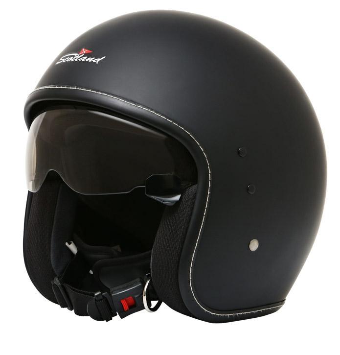 SCOTLAND CASCO JET CON OCCHIALE Helmet