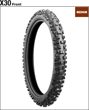 BRIDGESTONE BATTLECROSS X30 [70 / 100-19 42M] ยาง