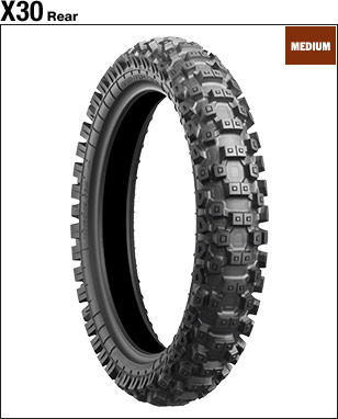 BRIDGESTONE BATTLECROSS X30 [90/100-16 52M] Tire