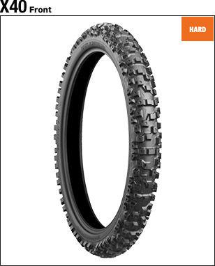 BRIDGESTONE BATTLECROSS X40 [90/100-21 57M] Tire