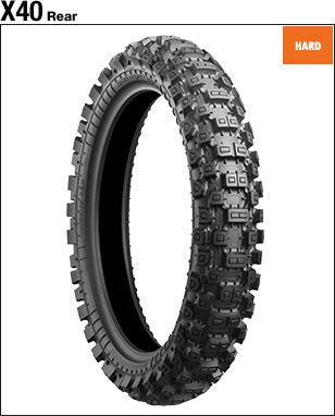 BRIDGESTONE BATTLECROSS X40 [120/80-19 63M] Tire