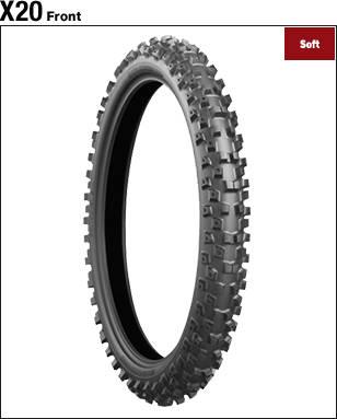 BRIDGESTONE BATTLECROSS X20 [90/100-21 57M] Tire