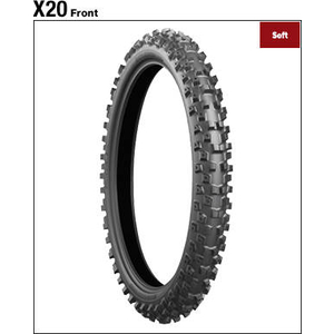 BRIDGESTONE BATTLECROSS X20 [90/100-21 57M] TIRE