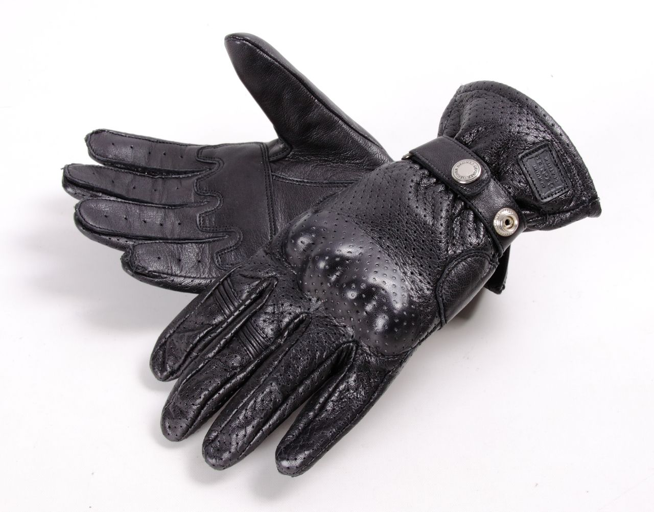 DEGNER Mesh Leather Gloves