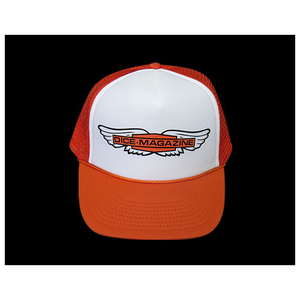 Neofactory DICE Magazine Mesh Cap Wing Wonder Orange