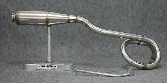 GM-MOTO Tornado Exhaust System