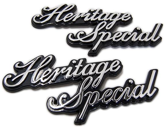 MOTOR ROCK Side   cover   emblem   Heritage   Special