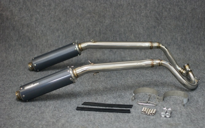 GM-MOTO Double Exhaust System for DAX