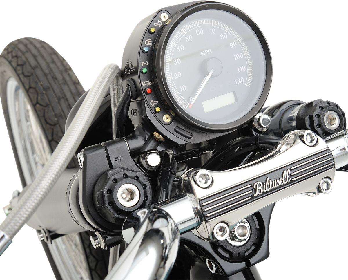 【JOKER MACHINE】時速表固定座 黑色 XL 2007-13 【MOUNT SPEEDO 07-13 XL BLK [2210-0153]】 - 「Webike-摩托百貨」