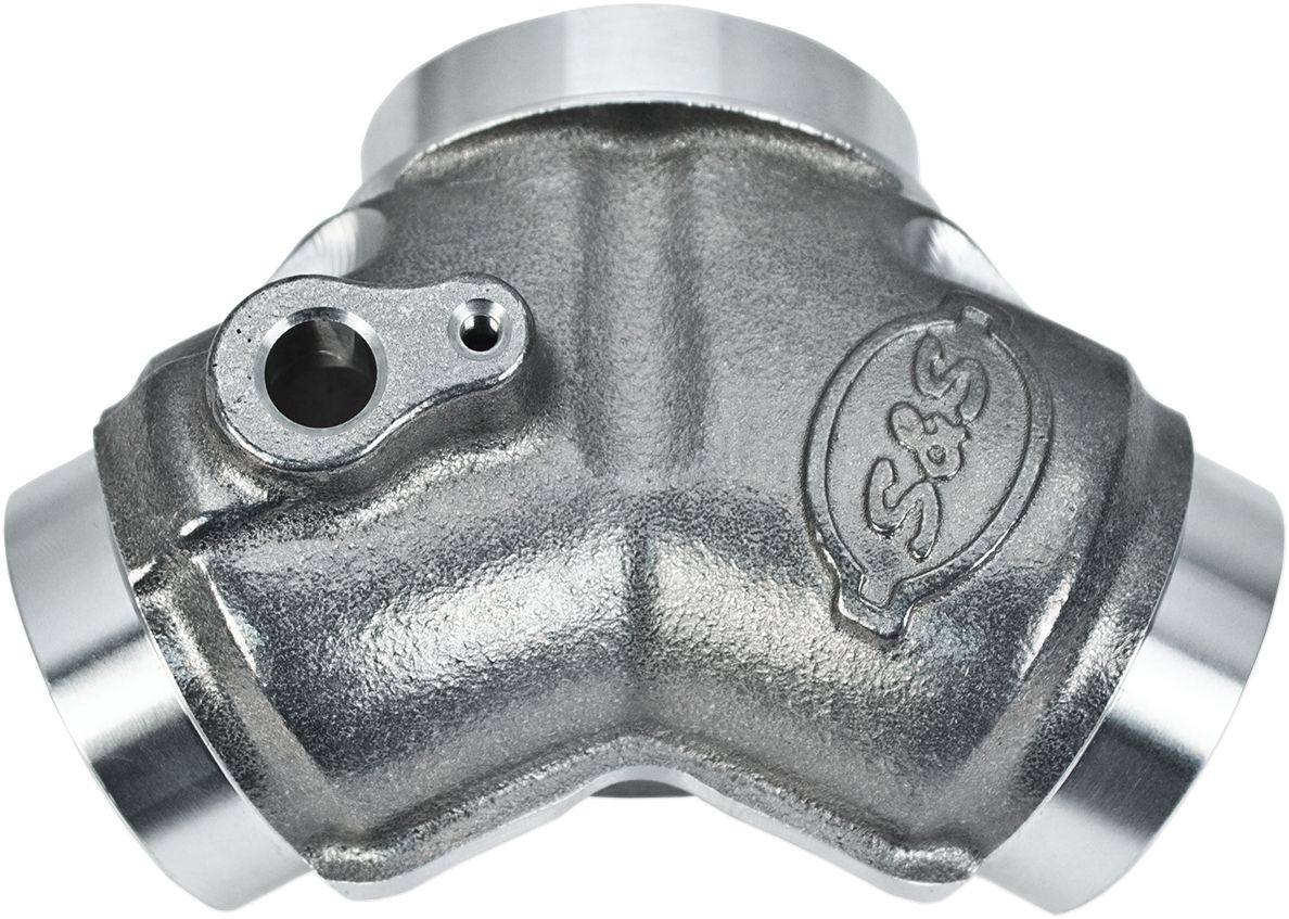 【S&S CYCLE】進氣歧管/ 48mm CV TC 【MANIFOLD 48MM CV TC [1050-0295]】 - 「Webike-摩托百貨」