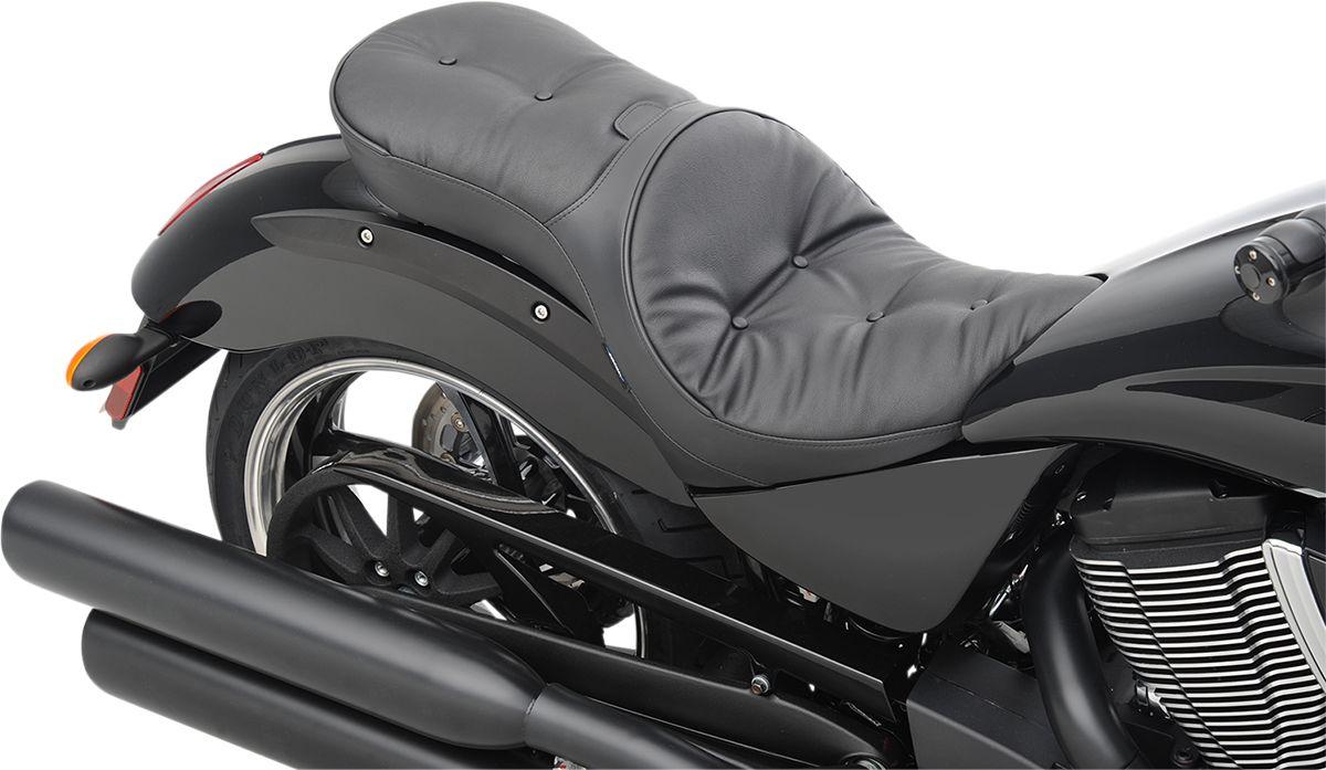 【Drag Specialties】坐墊/  LOW PROFILE DBR VEGAS PLW 【SEAT LOPRODBR VEGAS PLW [0810-1607]】 - 「Webike-摩托百貨」