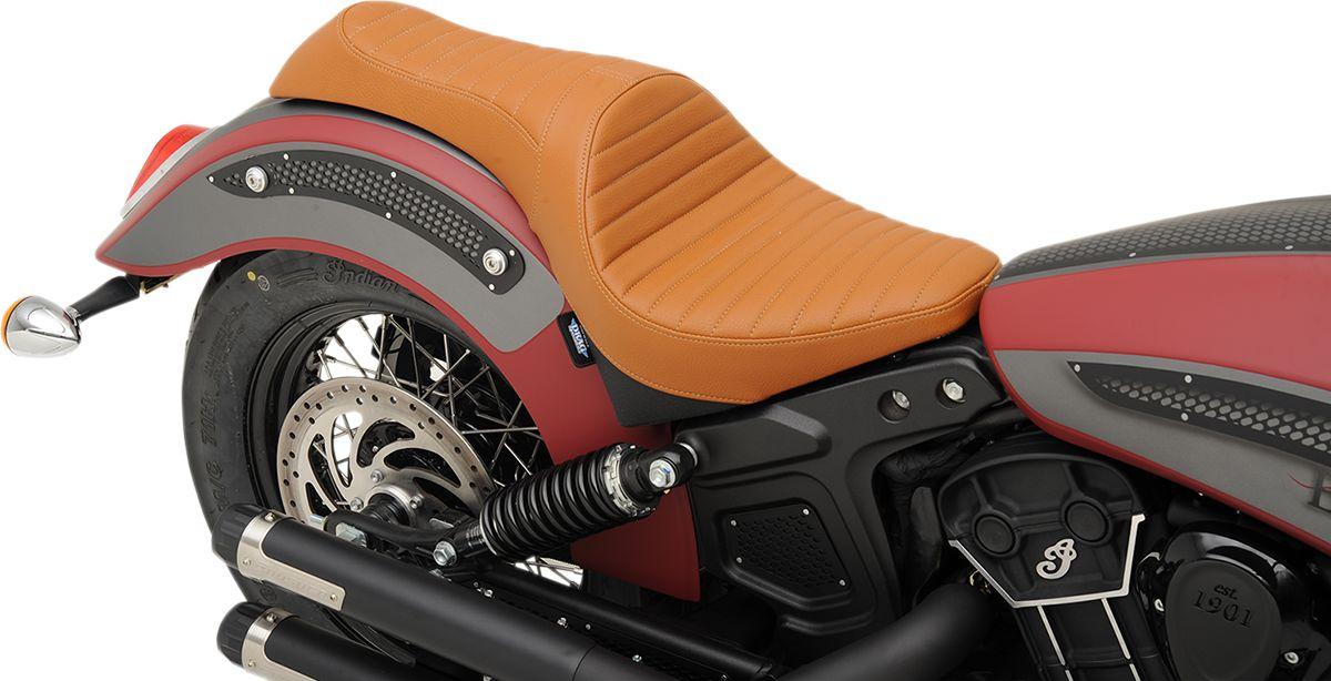 【Drag Specialties】CABALLERO 坐墊/ 棕色 KLASSIC 【SEAT CABLRO BRN CLASC [0810-1998]】 - 「Webike-摩托百貨」