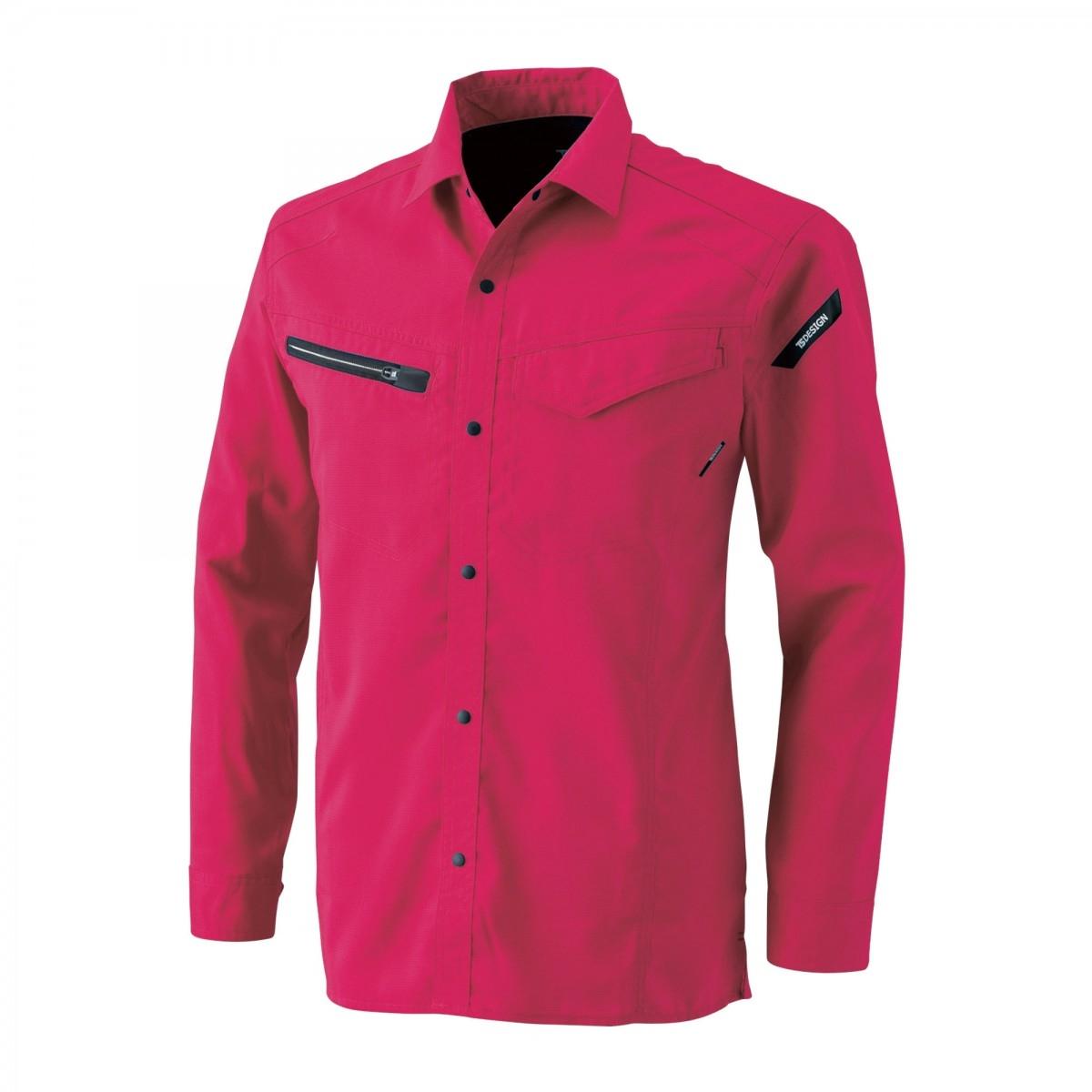 Vinrød business skjorte for damer | Tailor Store®