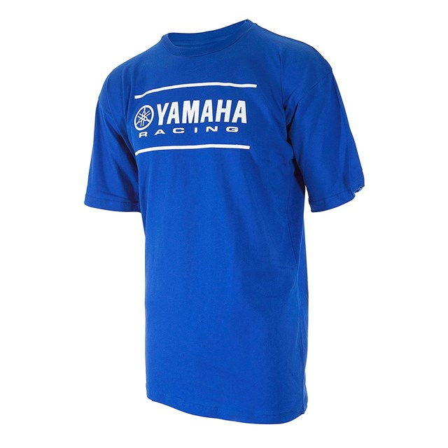 【US YAMAHA】青少年 皇家藍色 Yamaha  競賽 T恤 - 「Webike-摩托百貨」