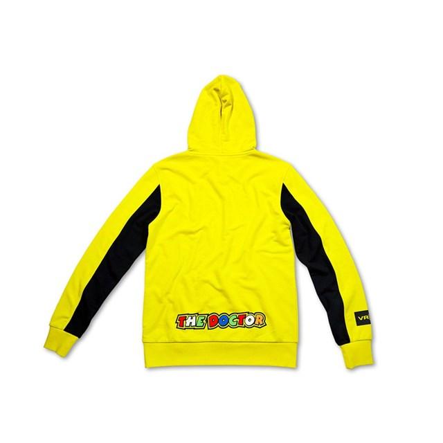 【US YAMAHA】46 Vale Yellow 帽T by VR/46(R) - 「Webike-摩托百貨」