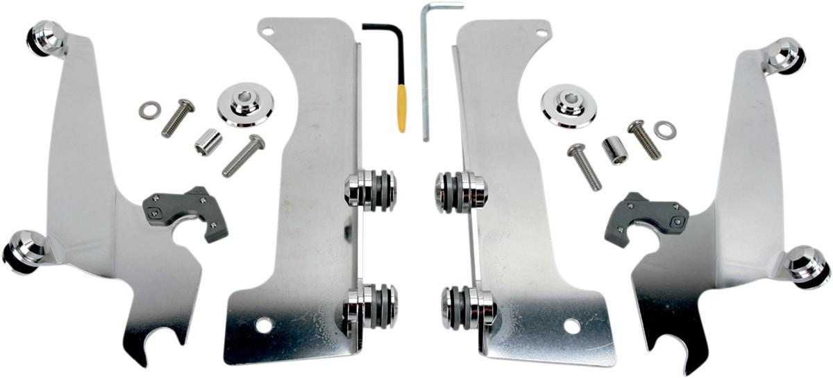YAM BOLT 2014 Memphis Shades Sportshield No-Tool Trigger-Lock Mount Kit
