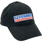 PARTS UNLIMITED PU EMBROIDERED HAT BK M/L [2501-1113]