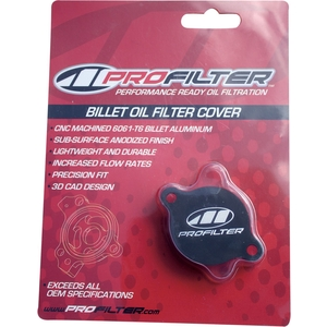PRO FILTER COVER OIL FILTER ALUM [0712-0256]
