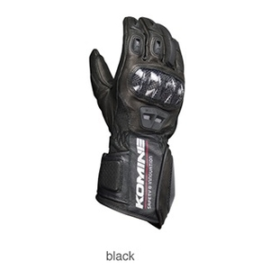 KOMINE GK-198 Carbon Protect Racing Gloves Gun