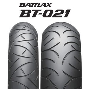 BRIDGESTONE BATTLAX RADIAL BT021 [120 / 70ZR17 (58W)] إطار العجلة