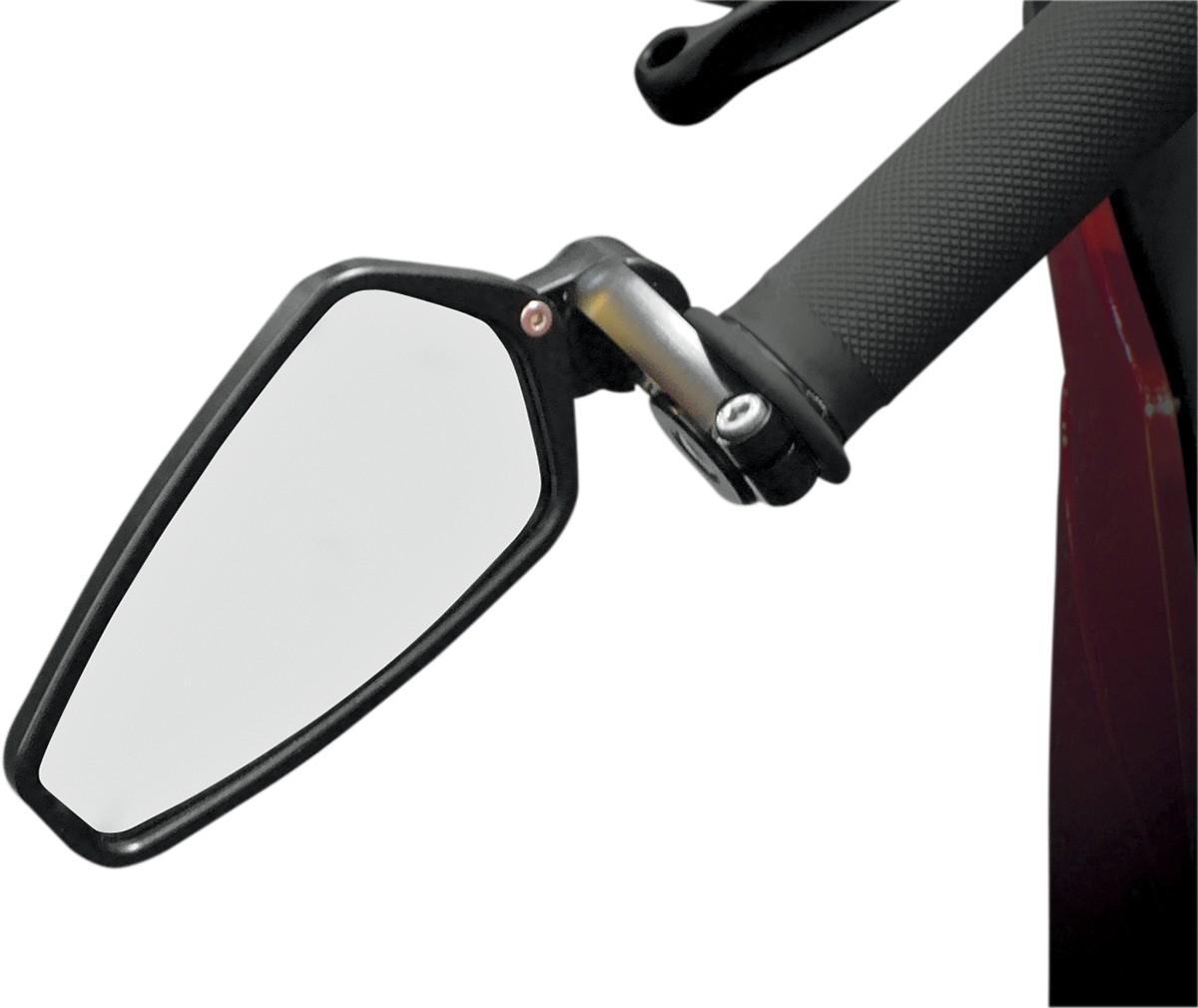 AO-100 0640-0523 CRG Bar End Mirror Arrow Black