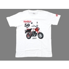 HONDA RIDING GEAR [ Monkey 50th Anniversary] MONKEY 50 TH T - Shirt