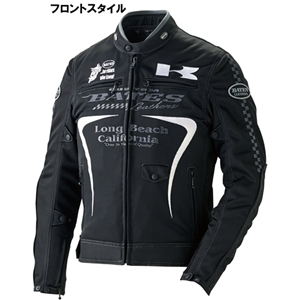KAWASAKI KAWASAKIxBates Air Through Mesh 2 WAY Jacket