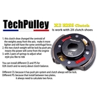 TechPulley X2 KISS Clutch (Advance) A Type 125mm