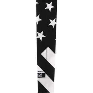 ZAN HEADGEAR COOLDANA BLK WHT FLAG [2504-0395]