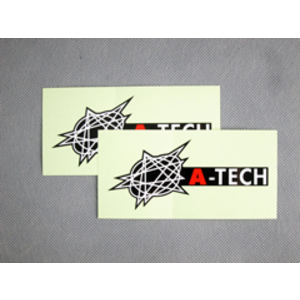 A-TECH A-TECH Logo Sticker