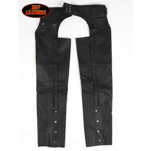 EASYRIDERS Braided Leather Chaps