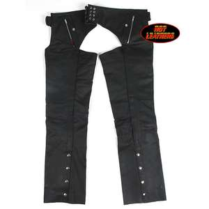EASYRIDERS Leather Chaps (with Liner)