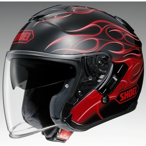 SHOEI J-Cruise REBORN [TC-1 Red/Black] Helmet