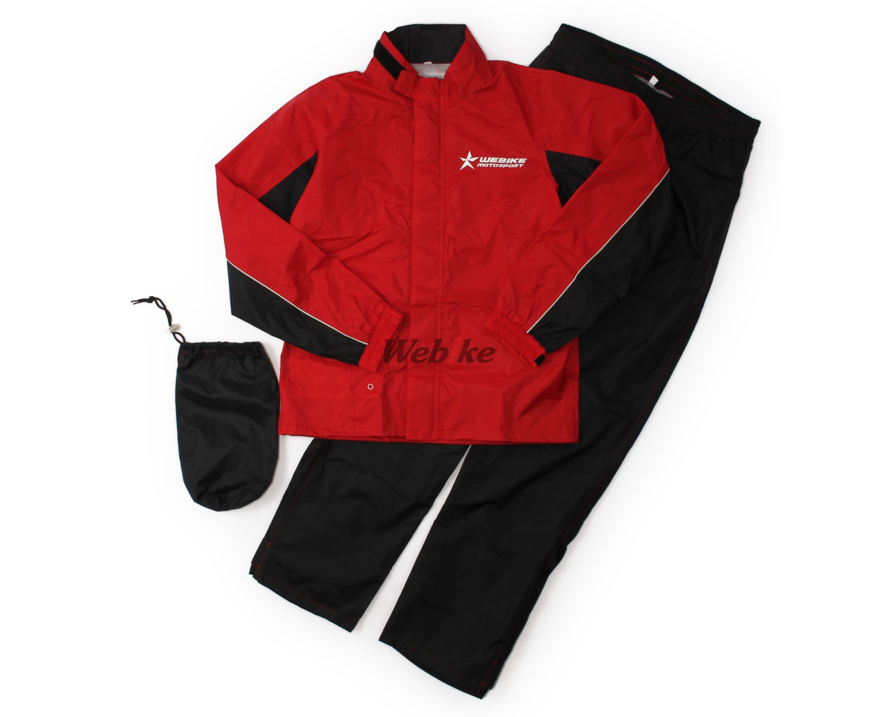 Webike Motosports Raincoat for motorcycle riders