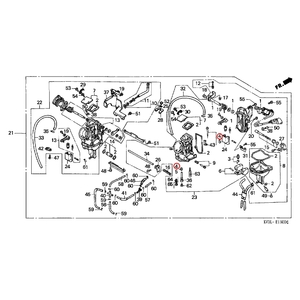 HONDA [Pre-order Item] OEM Parts Needle Set, Jet