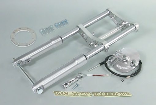 SP TAKEGAWA (Special Parts TAKEGAWA) Front Fork Kit Φ27 (Type 2) Drum Brake Spec .