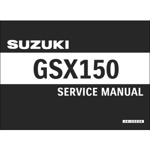 SUZUKI Service Manual