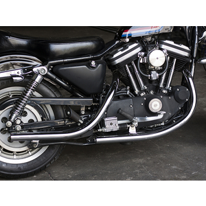 MOTOR ROCK Old Style Hand Bent Exhaust System