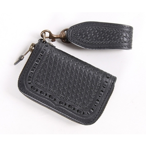 DEGNER Carving Leather Key Case