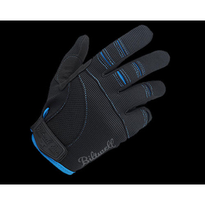 Neofactory BILTWELL Moto Gloves Black/Blue XS