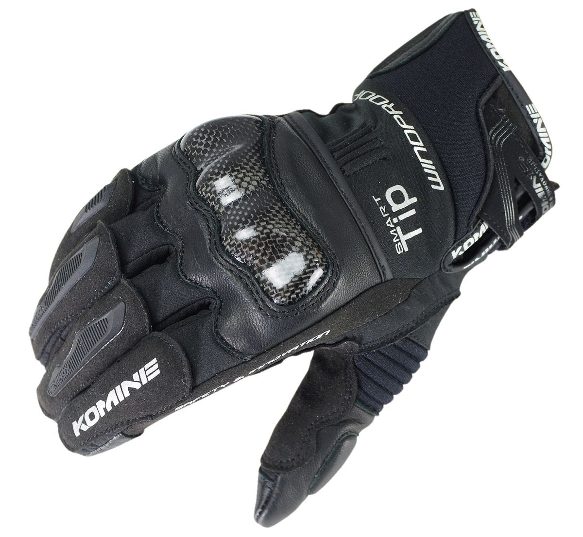 KOMINE GK-821 Rękawica Carbon Protect Windproof