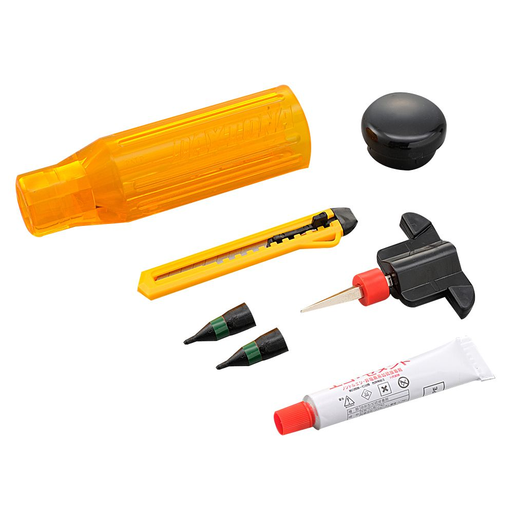 DAYTONA Handy Puncture Repair Set (for Tubeless Tire)