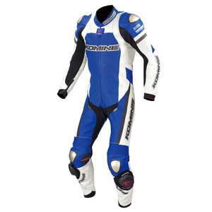KOMINE S-50 Titanium Leather Suit Basara