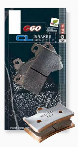 CARBONE LORRAINE Brake   Pads   C 60   Racing   for   Circuit   [ RACING / Circuit ]