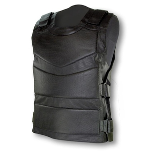 RIDEZ ARMED LEATHER VEST