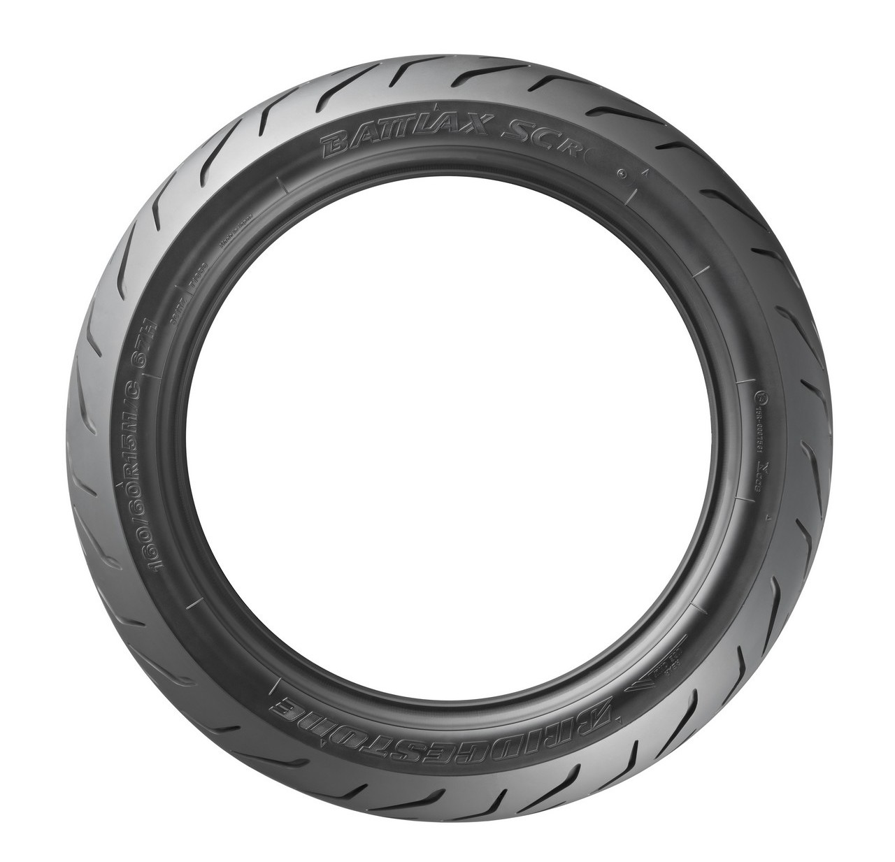 Bridgestone SC 1F 90//90-14 TL 46P Front wheel,M//C