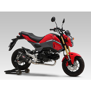 YOSHIMURA Machine Bent R-77S Cyclone Carbon End EXPORT SPEC TYPE-Down Full Exhaust System