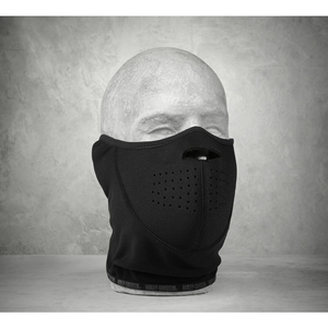 HARLEY-DAVIDSON [Items Eligible For Outletsale] Men ' S Windproof Fleece/Neopreneface Mask [ Men ' S Wind - Resistant Fleece/Neoprene Face Mask ] [Specials]